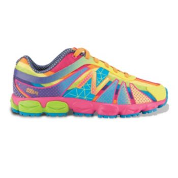 New Balance 890V4 Polka-Dot Running Shoes Girls