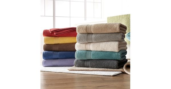 Sonoma Goods For Life Quick Dry Textured Bath Towels