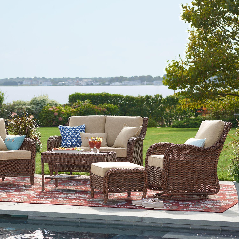 sonoma goods for life presidio patio furniture collection rh kohls com sonoma patio furniture walmart sonoma patio table