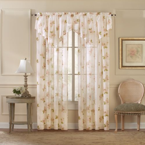 CHF and You Waterlilly Scroll Window Treatments