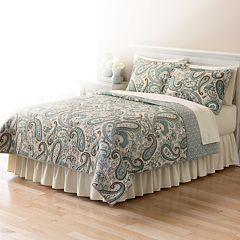 Home Classics® Sarah Paisley Quilt Coordinates