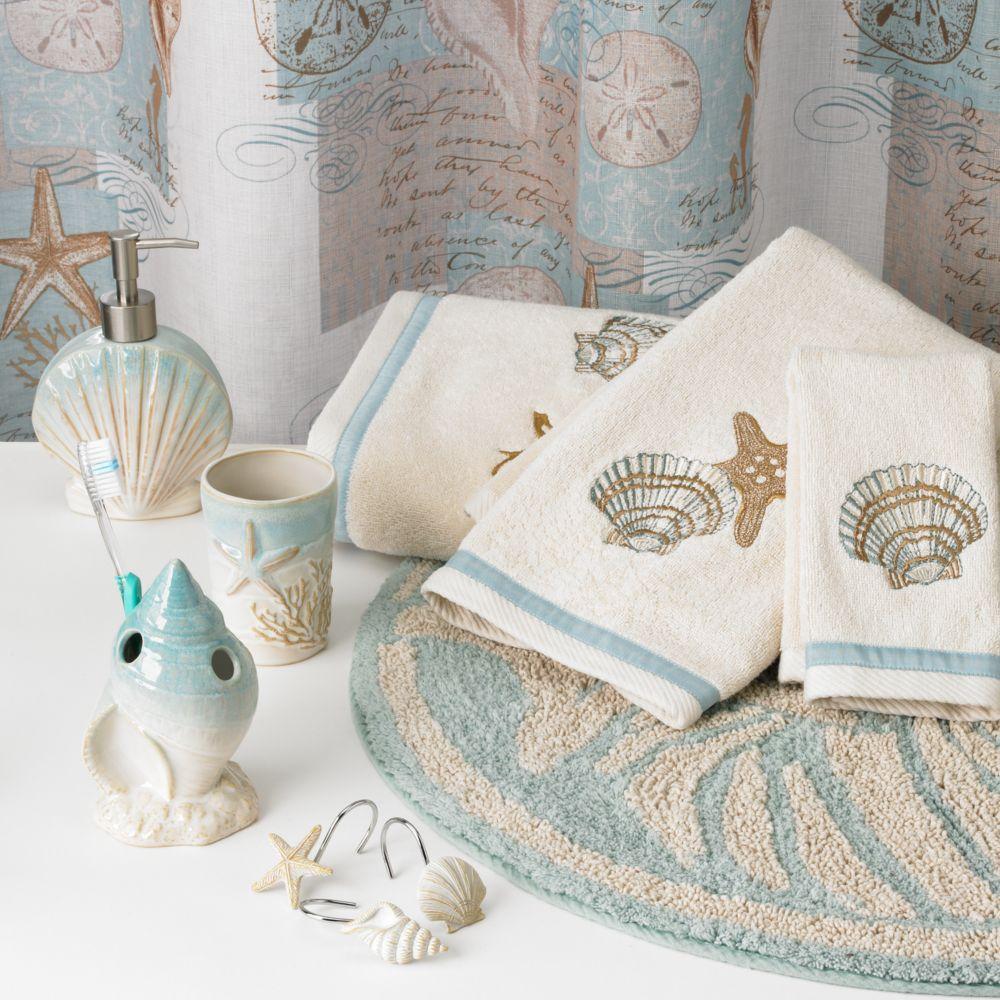 coastal moonlight bathroom accessories collection