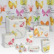 Kathy Davis Flutterby Bathroom Accessories Collection