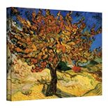 ''Mulberry Tree'' Canvas Wall Art by Vincent van Gogh
