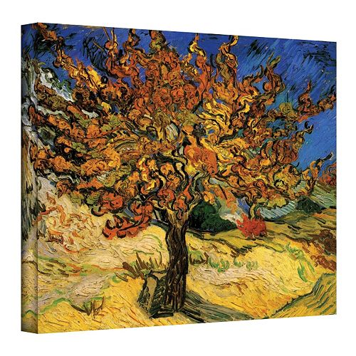 Mulberry Tree\'\' Canvas Wall Art by Vincent van Gogh