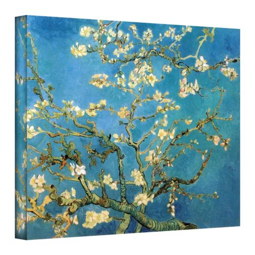 """""""Almond Blossom"""" Canvas Wall Art by Vincent van Gogh"""