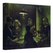 ''The Potato Eaters'' Canvas Wall Art by Vincent van Gogh