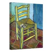 ''Vincent's Chair'' Canvas Wall Art by Vincent van Gogh