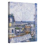 ''Paris from Vincent's Room'' Canvas Wall Art by Vincent van Gogh