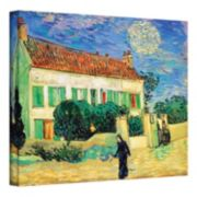 """The White House at Night"" Canvas Wall Art by Vincent van Gogh"