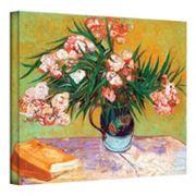 ''Oleanders' Canvas Wall Art by Vincent van Gogh