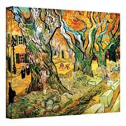'The Road Menders' Canvas Wall Art by Vincent van Gogh
