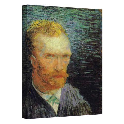 """Self Portrait"" Canvas Wall Art by Vincent van Gogh"