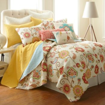 Ashbury Spring Reversible Quilt Collection