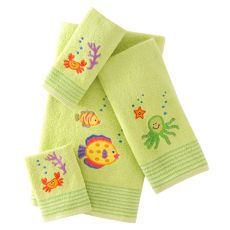 Sea Life Towels