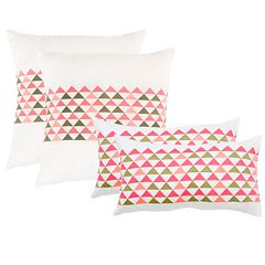 Safavieh 2 pc Geo Mountain Throw Pillow Set