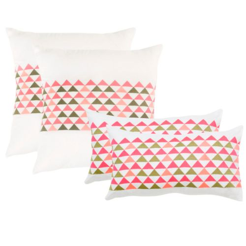 Safavieh 2-piece Geo Mountain Throw Pillow Set