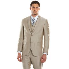 Savile Row Modern-Fit Tan Herringbone Suit Separates - Men