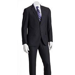 Savile Row Modern-Fit Black Suit Separates - Men