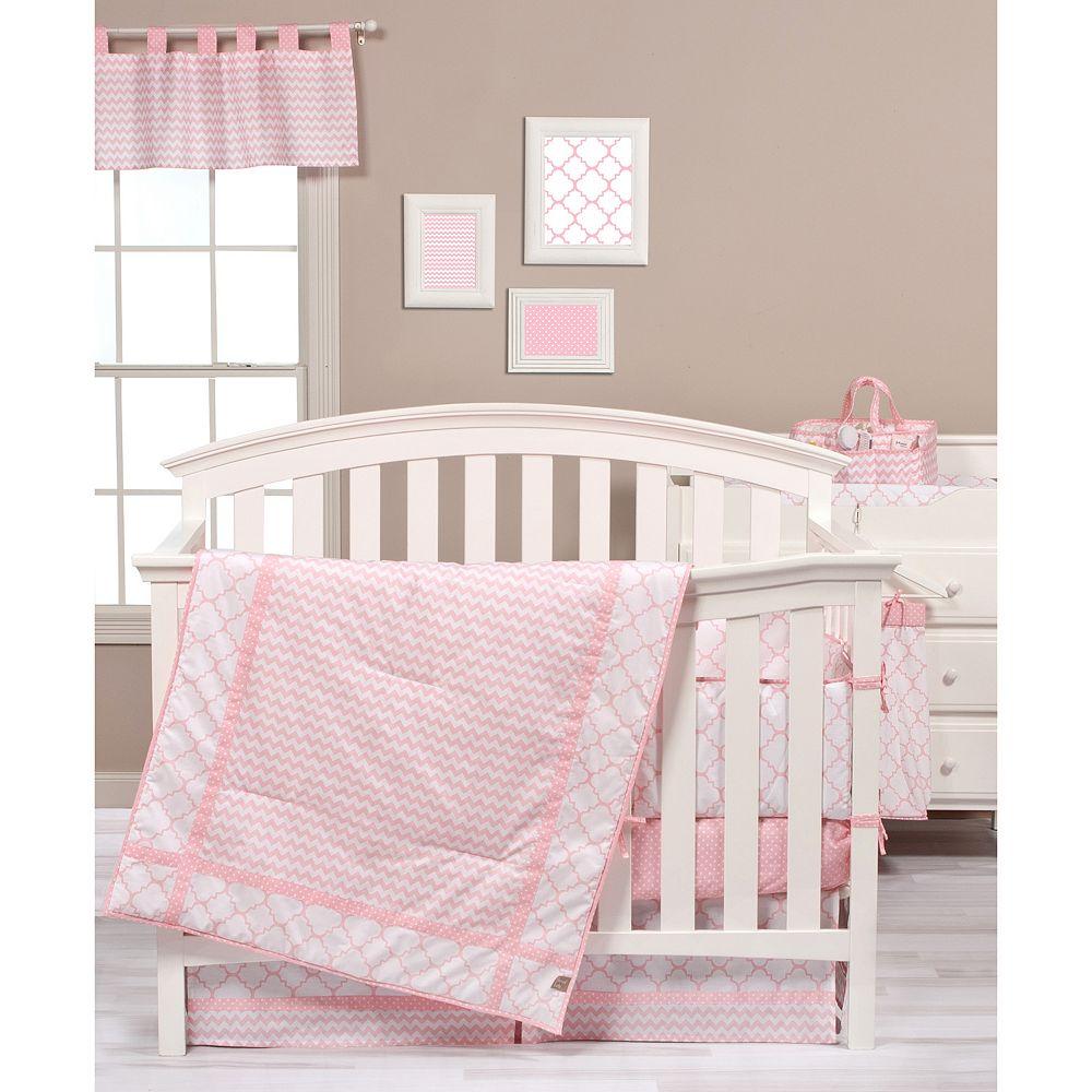 trend lab pink sky nursery coordinates -