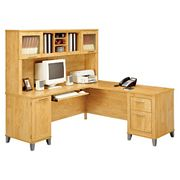 Bush Furniture Somerset Desk and Hutch