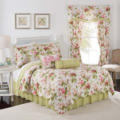 Waverly Emma's Garden Reversible Quilt Collection