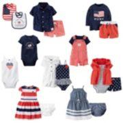 Carter's Patriotic Mix & Match Coordinates - Baby