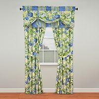 Waverly Floral Flourish Window Treatments