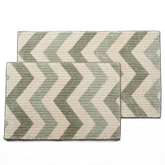 Maples Rugs Layla Chevron Bath Rug