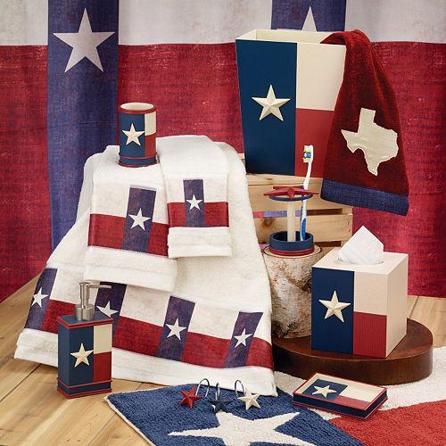 Avanti Texas Star Bathroom Accessories Collection. Texas Star Bathroom Accessories Collection