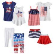 Jumping Beans® Patriotic Mix & Match Coordinates - Toddler Girl