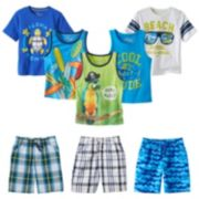 Jumping Beans® Tropical Mix & Match Coordinates - Toddler Boy