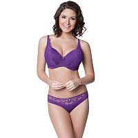 Parfait by Affinitas Carole Lace Contour Full-Figure Bra & Panties - Women's