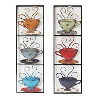 Tea Cups Wall Art