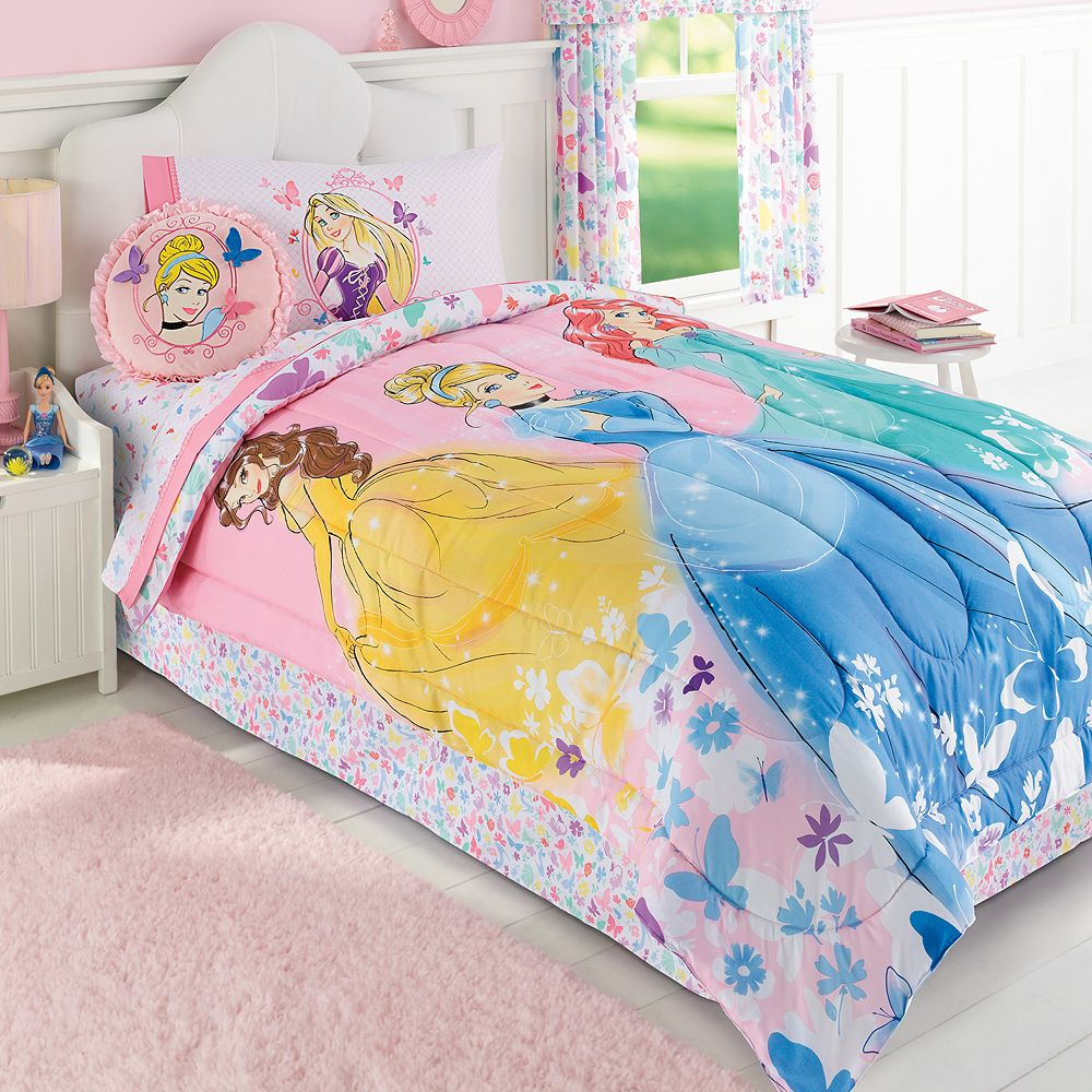 Daybed bedding for little girls - Disney Princess Reversible Bedding Collection By Jumping Beans