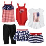 Jumping Beans® Patriotic Mix & Match Coordinates - Baby Girl