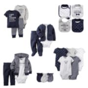 Carter's Mustache Mix & Match Coordinates - Baby Boy