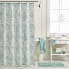 lc lauren conrad shower curtains bathroom, bed & bath | kohl's