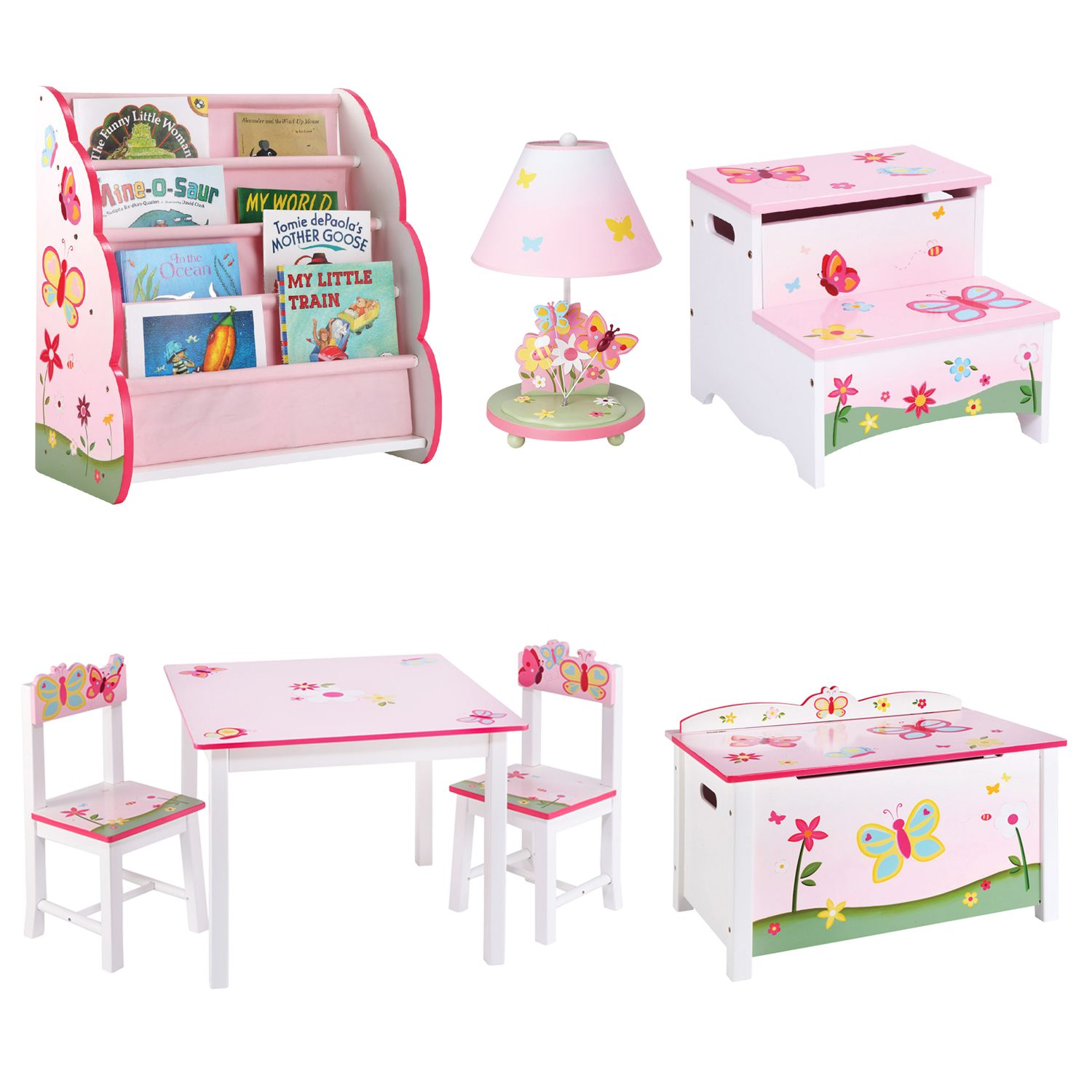 Awesome Guidecraft Butterfly Buddies Furniture Collection