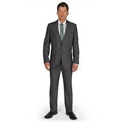 Apt. 9® Soho Slim-Fit Gray Suit Separates - Men