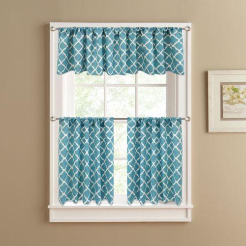 Misha Tier Kitchen Curtains