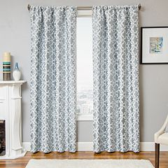 Softline Larson Tile Curtain & Throw Pillow Collection