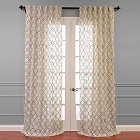 EFF Saida Embroidered Sheer Curtain
