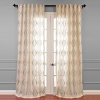 EFF Suez Embroidered Sheer Curtain