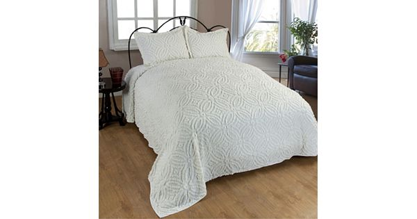 Wedding Ring Chenille Bedspread Collection