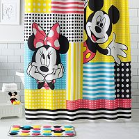 Disney's Mickey & Minnie Mouse Shower Curtain Collection by Jumping Beans®