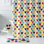 Disney's Minnie & Mickey Mouse Shower Curtain Collection by Jumping Beans®