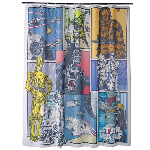 Star Wars Home Shower Curtain Collection
