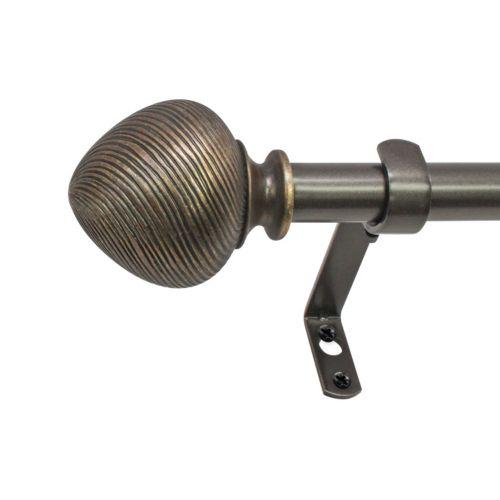 Decopolitan Twist Adjustable Curtain Rod