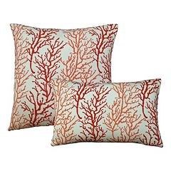 Edie, Inc.  Capri Outdoor Throw Pillow